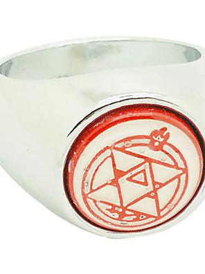 Šperky Inspirovaný Fullmetal Alchemist Cosplay Anime Cosplay Doplňky kroužek Czerwony Pánský / Dámský