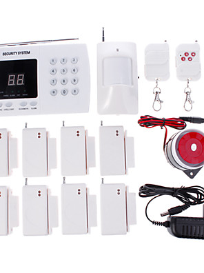 NIEUW draadloos automatisch bellend woningbeveiliging alarmsysteem met automatisch nummer kiezen