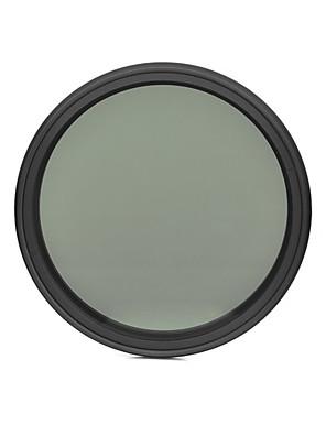 fotga® 82 milímetros que diminui  magro nd filtro de densidade neutra ND2 variável ajustável para ND400