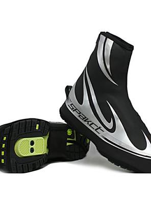 נעלים לרכיבת אופניים יוניסקס טבע / אופני הרים / אופני כביש נגד החלקה / עמיד למים שחור / כסף
