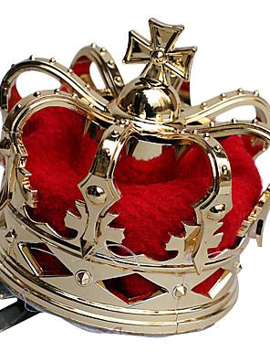 Korona Királynő Fesztivál/ünnepek Mindszentek napi kösztümök Piros / Aranyozott Kollázs / Régies (Vintage) KoronaMindszentek napja /