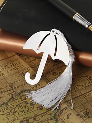 Sølv Paraply Bogmærke med kvast