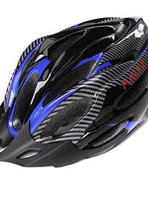 FJQXZ Unisex PC + EPS 21 otvory černá + modrá nastavitelná na kole helmu