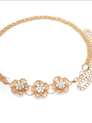 Dámská Flower Diamond Belt