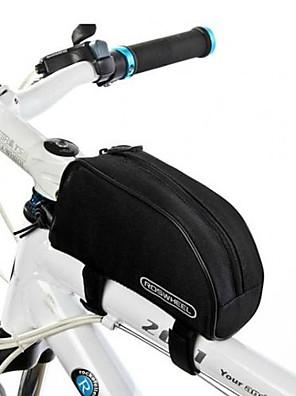 תיק אופניים 1.5Lתיקים למסגרת האופניים עמיד למים / פס מחזיר אור / מונע החלקה / ניתן ללבישה תיק אופניים 600D Polyester תיק אופנייםרכיבה על