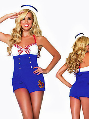 Naughty Girl Light Blue Sailor Uniform