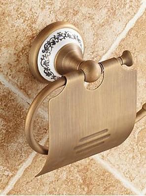 Antique Brass WC-papír tartók