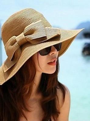 כובע קש נשים יום יומי,קש קיץ