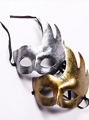 Masker Festival/Feestdagen Halloween Kostuums Gouden / Zilver Masker Halloween / Carnaval Unisex PVC