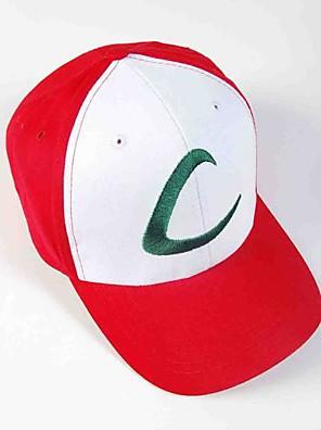 100% algodón bolsillo Gorra de plato pequeño monstruo ceniza Ketchum sombrero cosplay de anime
