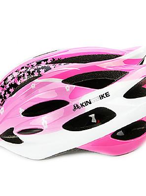 kingbike 18 otvory lehká kola integrálně tvarovaný na kole helmu (58 až 62 cm)