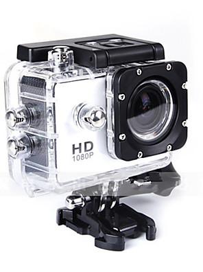 SJ4000 Action Kamera / Sportskamera 12MP 4000 x 3000 Vandtæt / Alt i en / Anti-Shock 1.5 CMOS 32 GB 30 MUniversel / Dykning / motocycle /