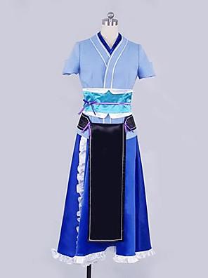 inspireret af ubrydelig maskine-dukke Irori cosplay kostumer