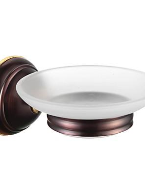 Bathroom Accessories Solid Brass Soap Dish Holder  Oil Rubbed Bronze