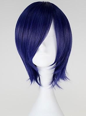 פאות קוספליי טוקיו ר 'ול קירישימה Touka כחול קצרה אנימה פאות קוספליי 32 CM סיבים עמידים לחום נקבה