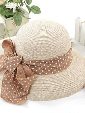 כובע חוף סרט המסובבת של הנשים