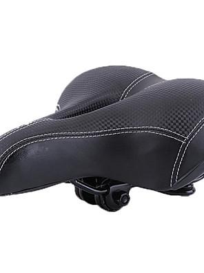 Selim de Bicicleta Bicicleta De Montanha liga de alumínio / Couro Preta