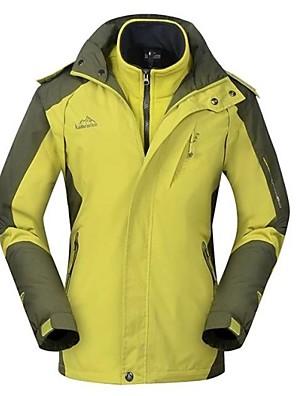 טיולי טבע ז'קטים לחורף / מעילי סקי/סנובורד / מעילי רוח / מעילי 3 ב 1 / ז'קטים לנשים לנשיםעמיד למים / נושם / חסין מים לחלוטין (20 מטר