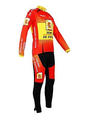 KOOPLUS® Cyklo bunda a kalhoty Dámské / Pánské / Unisex Dlouhé rukávy Jezdit na koleProdyšné / Zahřívací / Zateplená podšívka /