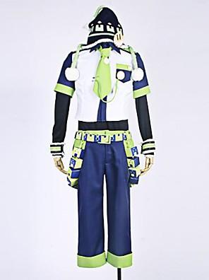 Costumes Cosplay - Noiz - Dramatical Murder -Manches Ajustées / Chemise / Pantalons / Chapeau / Cravate / Manche / Accessoires de taille