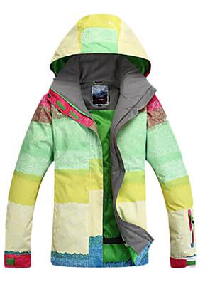 Dámské Bundy na lyže/snowboard / Dámská bunda / Zimní bunda Lyže / Brusle / Sněhové sporty / SnowboardVoděodolný / Prodyšné / Zahřívací /