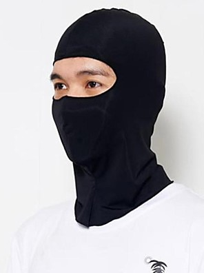 WOLFBIKE אופנייים/רכיבת אופניים כובעי גרב / מסכת פנים לגברים נושם / ייבוש מהיר / עמיד לאבק / חומרים קלים / קרם הגנה פוליאסטר אחידמחנאות