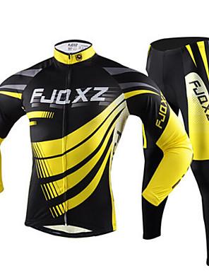 FJQXZ® Calça com Camisa para Ciclismo Homens Manga Comprida Moto Respirável / Secagem Rápida / Resistente Raios Ultravioleta