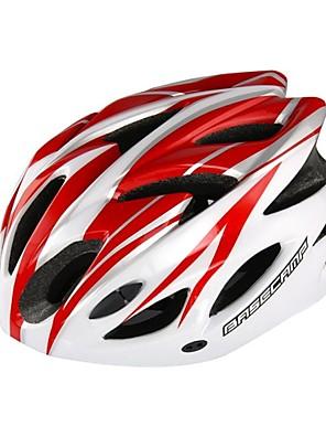 basecamp® bc-012 18 aberturas integralmente moldado ultralight ajustável prevenção inseto net ciclismo capacete vermelho + branco