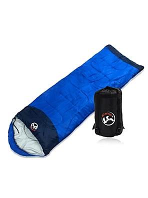 Saco de dormir Retangular Solteiro (L150 cm x C200 cm) 0°C~10°C Algodão 215cm X 78cm Campismo / Fishing / Viajar / CaçaÁ Prova de