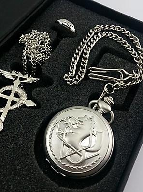 Hodiny / hodinky Inspirovaný Fullmetal Alchemist Edward Elric Anime Cosplay Doplňky Náhrdelníky / Hodiny / hodinky / kroužek Stříbro