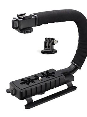 estabilizador de vídeo forma c lidar com kit de montagem (forma suporte c, adaptador GoPro)