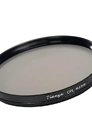מקטב tianya® 40.5mm cpl מסנן עבור sony a5100 A6000 a5000 NEX-5T 5tl nex5r qx1 16-50mm העדשה