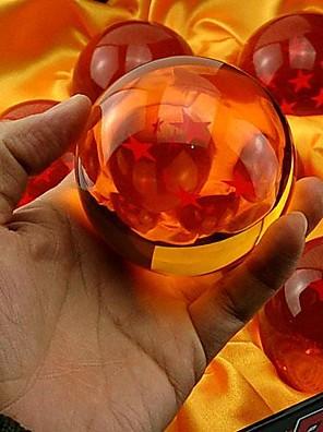 נתוני פעילות אנימה קיבל השראה מ Dragon Ball קוספליי אנימה אביזרי קוספליי דְמוּת כתום PVC זכר / נקבה