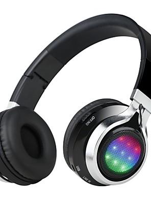 Sluchátka (Oblouková) sluchátka Bluetooth (čelenka) s mikrofonem / dj / ovládání hlasitosti / FM