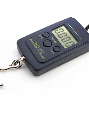 40 kg digital hængende balance lomme skala håndholdt vægt skala 12,5 * 9 * 2 cm