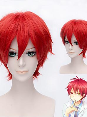 Cosplay Paruky Reborn! Cosplay Czerwony Short Anime Cosplay Paruky 30 CM Horkuvzdorné vlákno Pánský / Dámský