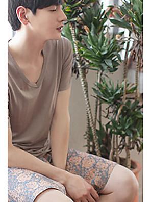 Střední Muži - Pyžama (Směs bavlny)