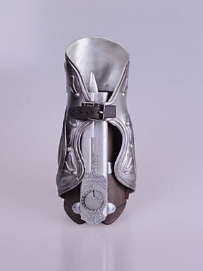 נשק קיבל השראה מ Assassin's Creed Ezio אנימה / משחקי וידאו אביזרי קוספליי נשק כסף PVC זכר
