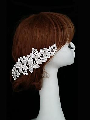 Svatební/Párty - Hřebeny na vlasy ( Štras/Postříbřené )