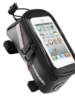 ROSWHEEL® Cyklistická taška 1.8LBrašna na rám / Mobilní telefon Bag Multifunkční / Dotyková obrazovka Taška na koloPVC / 600D Polyester /