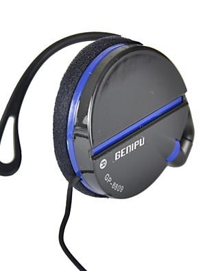 genipu 3.5mm gp-8809 de música estéreo de alta fidelidad con clip auricular