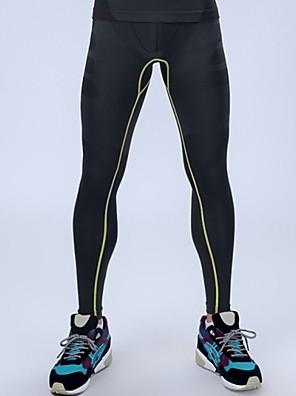 kompresní punčocháče tělocvična fitness profesionální sportovní pánské kalhoty vysoká pružnost běh běžci punčocháče Legíny pánské kalhoty