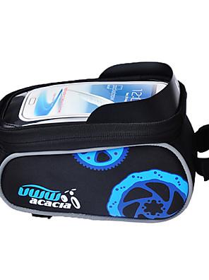 Acacia® Cyklistická taška <10LBrašna na rám / Mobilní telefon Bag Odolné vůči dešti / Multifunkční / Dotyková obrazovka Taška na kolo