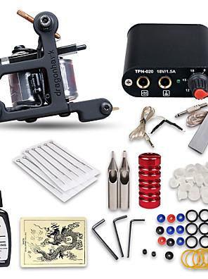 nybegynder tattoo kit 1 maskine professionel tatovering kit
