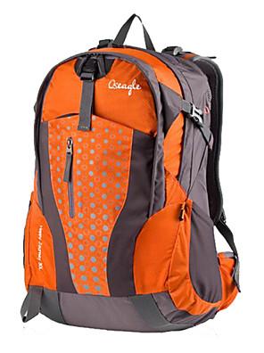 Voděodolný/Odolné vůči dešti/Nositelný/Multifunkční - Batohy/Cyklistika Backpack/Pokrývky na batoh ( Tmavě zelená/Oranžová , 30 L)