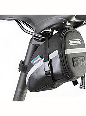 ROSWHEEL® Bolsa de Bicicleta 1LBolsa para Bagageiro de BicicletaÁ Prova-de-Água / Zíper á Prova-de-Água / Camurça de Vaca á