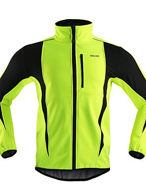 Arsuxeo® Cyklo bunda Pánské Dlouhé rukávy Jezdit na koleProdyšné / Zahřívací / Větruvzdorné / Anatomický design / Zadní kapsa / Reflexní