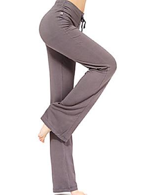 calças de yoga Calças Secagem Rápida / Materiais Leves Com Elástico Wear Sports Mulheres SHUYA® Ioga / Pilates / Exercicio e Fitness