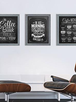 Abstrakt / Landskab / Stilleben / Arkitektur Indrammet Sæt Wall Art,Polystyrene Grå Måtte Inkluderet med Frame Wall Art