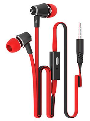 langsdom jm21 módní sluchátka, 10 barev pro mikrofon heavy bass sluchátka s připojením na kontrolní nudlemi drátu